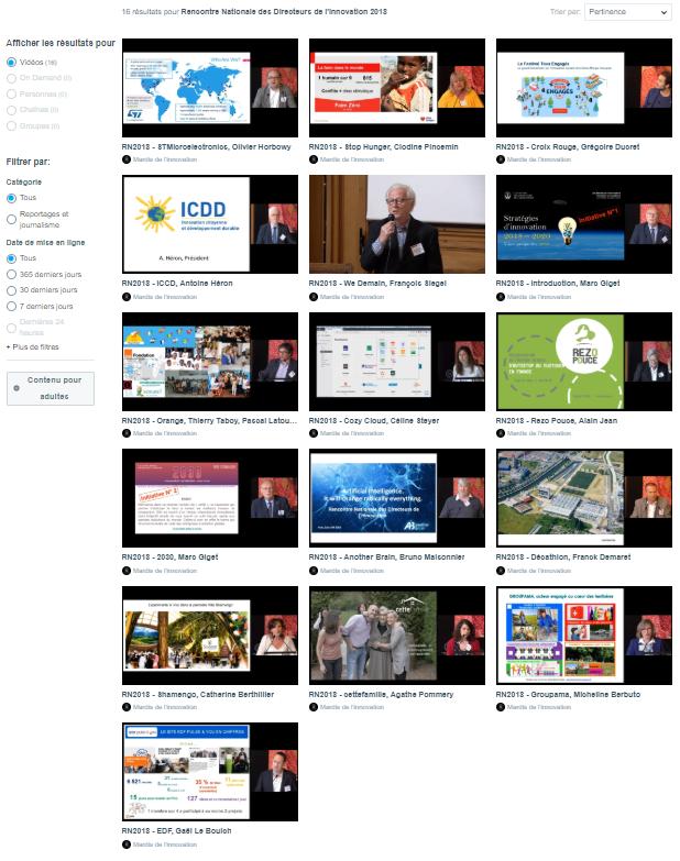 Retrouvez les vidéos de tous les intervenants de la Rencontre Nationale 2018 sur notre chaine VIMEO