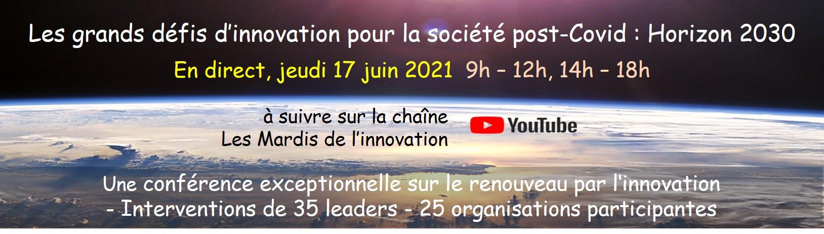 Inscrivez-vous à la Rencontre Nationale des Directeurs de l'Innovation 2021